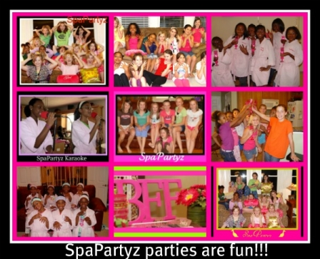 SpaPartyz are fun