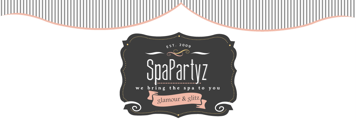 Get your Mobile Spa Parties for Tween Girls plus more at SpaPartyz.com logo